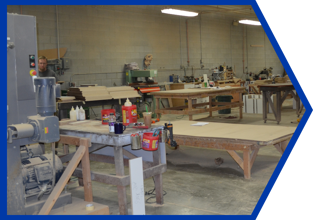 Fully Equipped Cabinet Shop